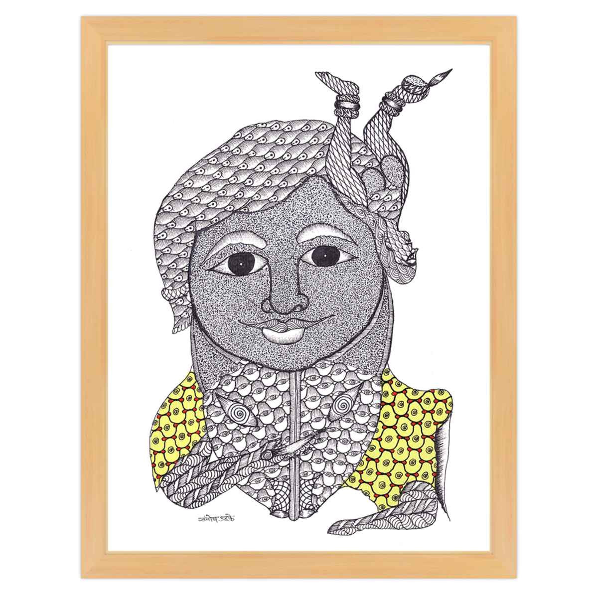 Santosh coloring #1, Download drawings