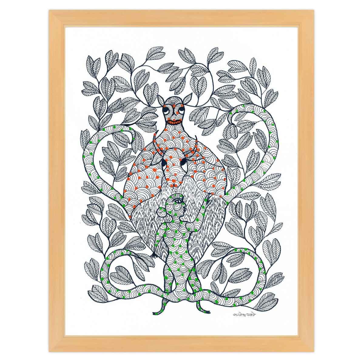 Santosh coloring #2, Download drawings