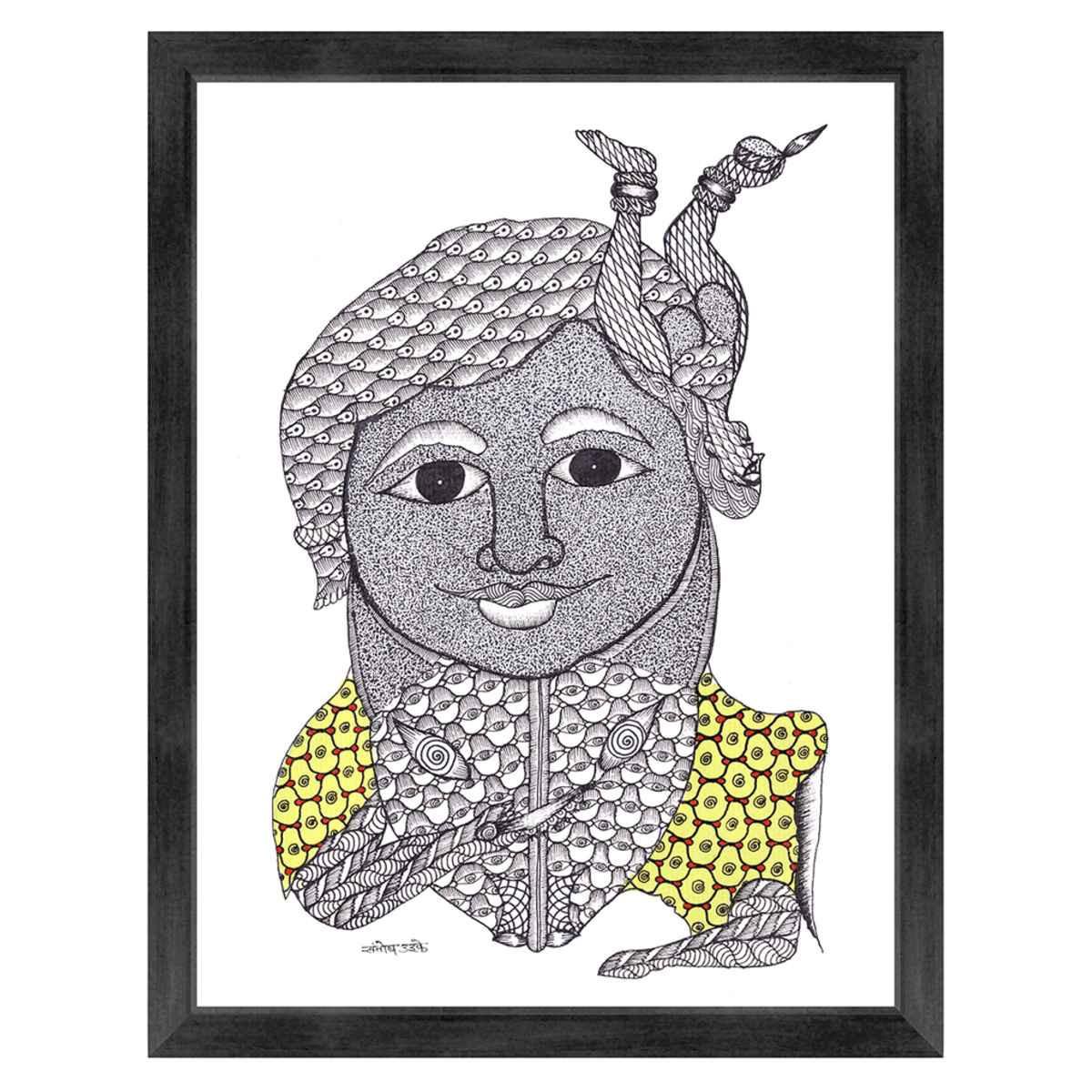 Santosh coloring #4, Download drawings
