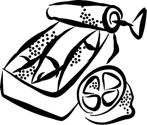 Sardine coloring #15, Download drawings