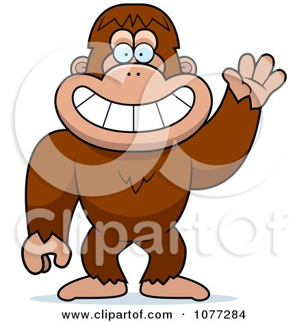 Sasquatch clipart #1, Download drawings