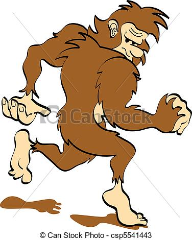 Sasquatch clipart #8, Download drawings