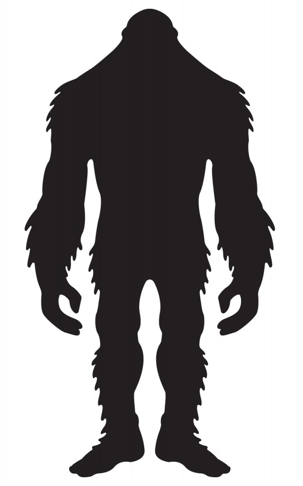 Sasquatch clipart #11, Download drawings