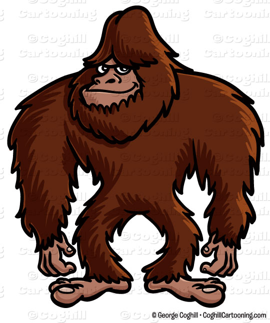Sasquatch clipart #15, Download drawings