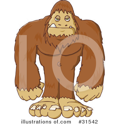 Sasquatch clipart #13, Download drawings