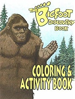 Sasquatch coloring #11, Download drawings