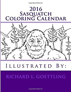 Sasquatch coloring #10, Download drawings