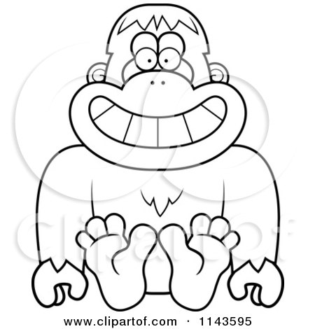 Sasquatch coloring download sasquatch coloring for Printable bigfoot coloring pages