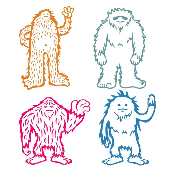 Sasquatch svg #497, Download drawings