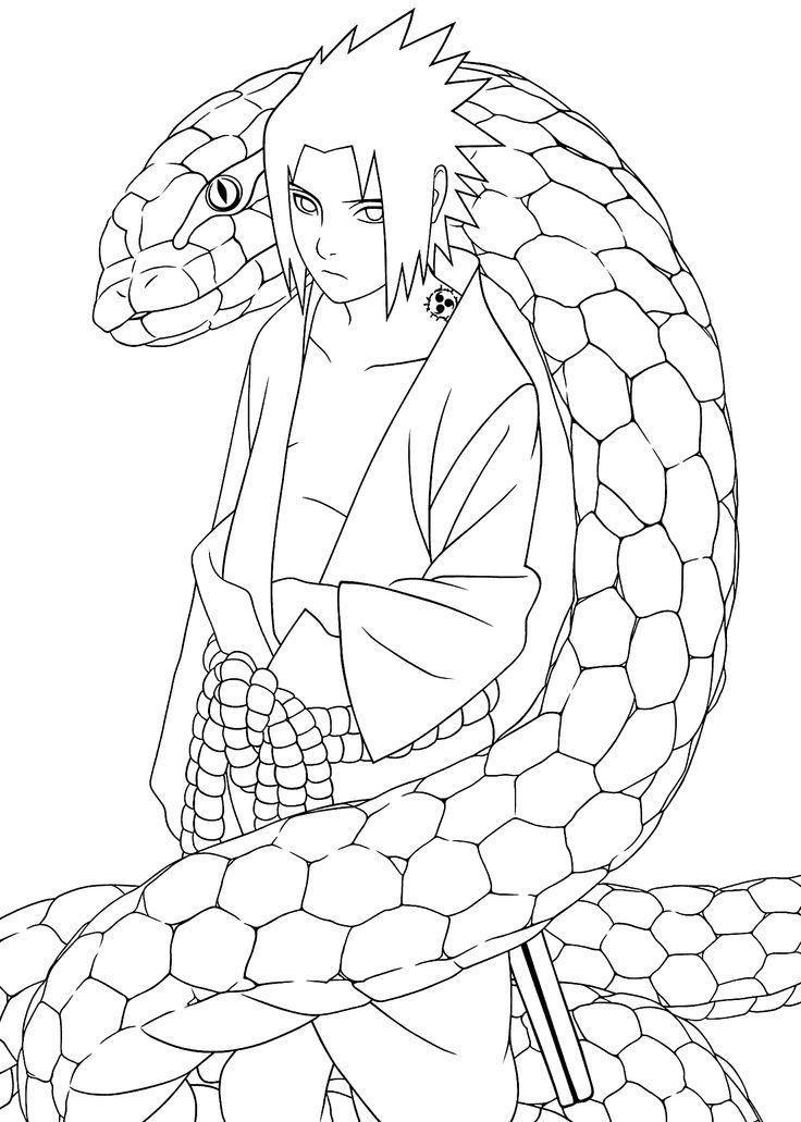 Sasuke Uchiha coloring #8, Download drawings