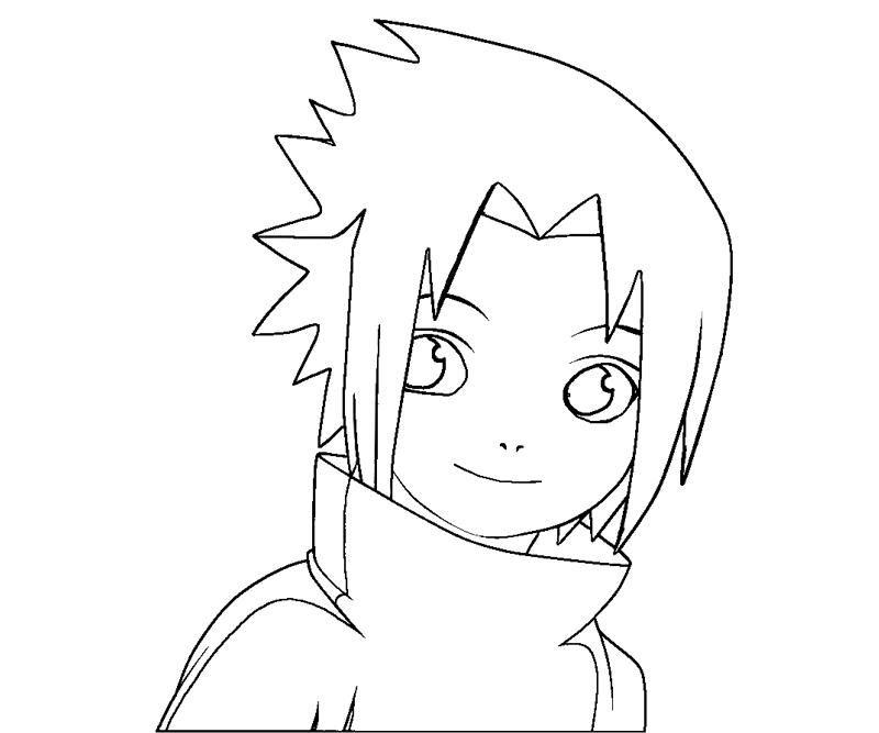 Sasuke Uchiha coloring #17, Download drawings