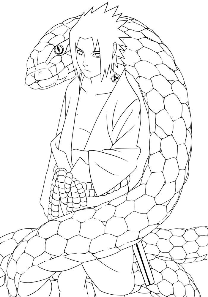 Sasuke Uchiha coloring #9, Download drawings