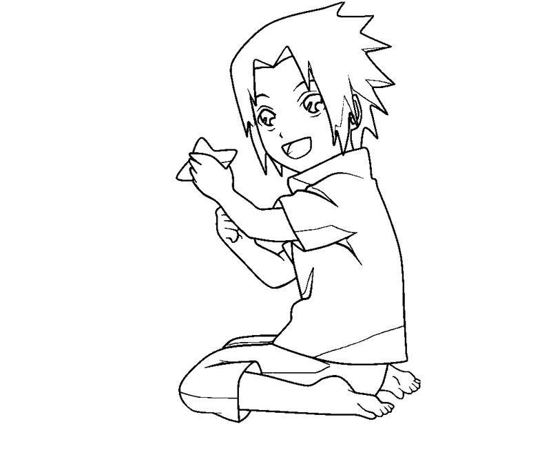 Sasuke Uchiha coloring #6, Download drawings