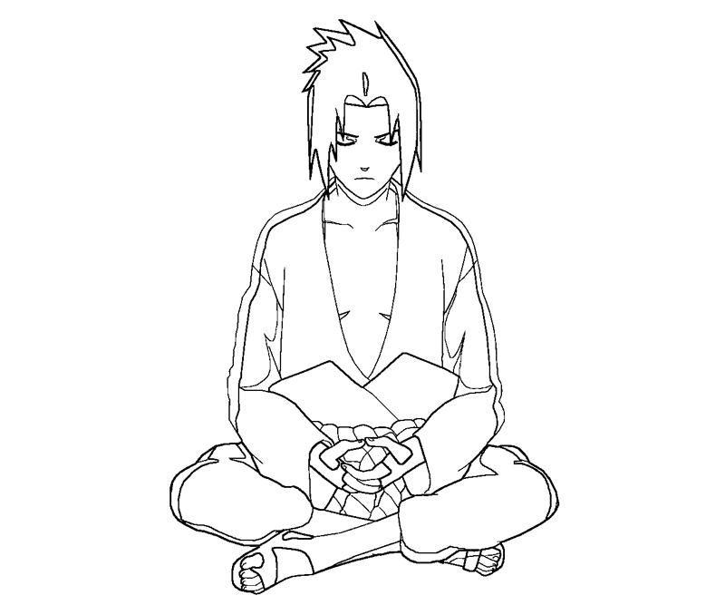 Sasuke Uchiha coloring #5, Download drawings