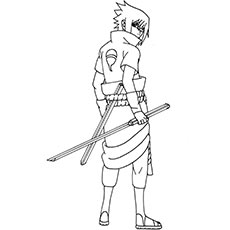 Sasuke Uchiha coloring #20, Download drawings