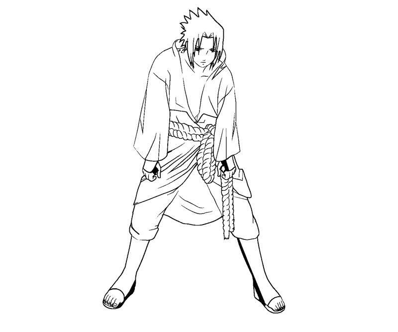Sasuke Uchiha coloring #1, Download drawings