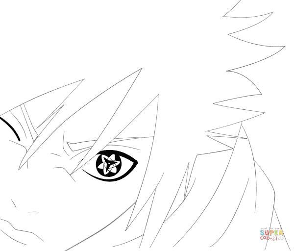 Sasuke Uchiha coloring #15, Download drawings