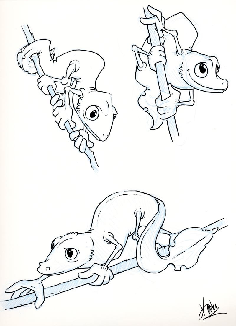 Satanic Leaf-tailed Gecko coloring #8, Download drawings