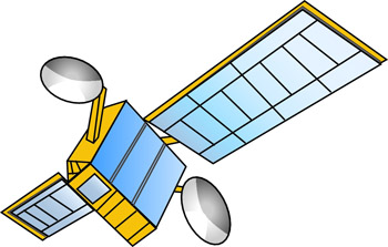 Satellite clipart #12, Download drawings