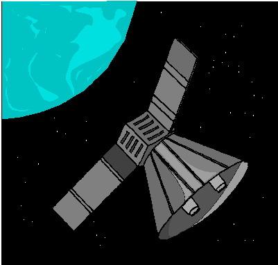 Satellite clipart #10, Download drawings