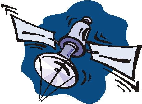Satellite clipart #1, Download drawings