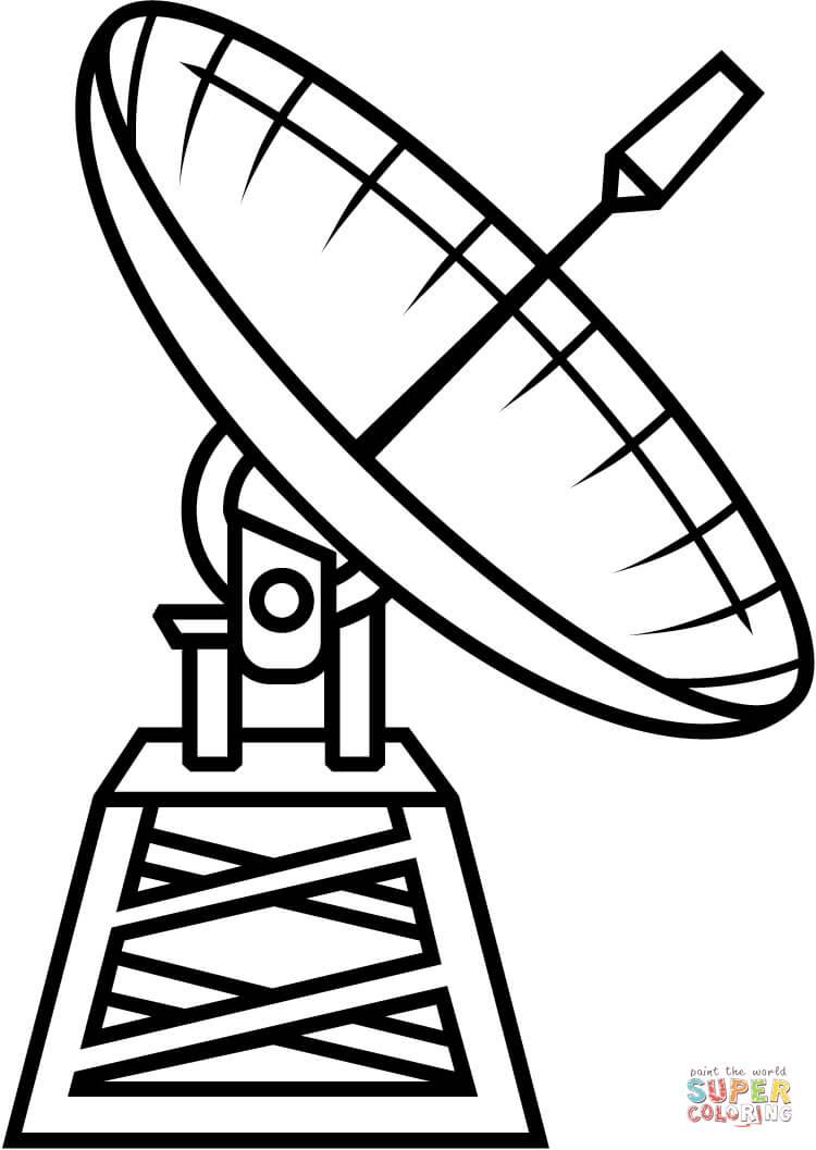 Satelite coloring #11, Download drawings