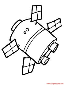 Satelite coloring #4, Download drawings