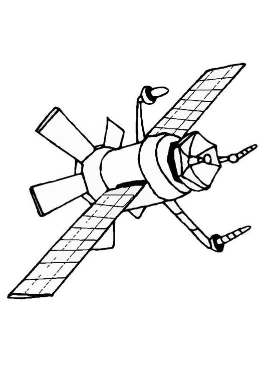 Satellite coloring #20, Download drawings