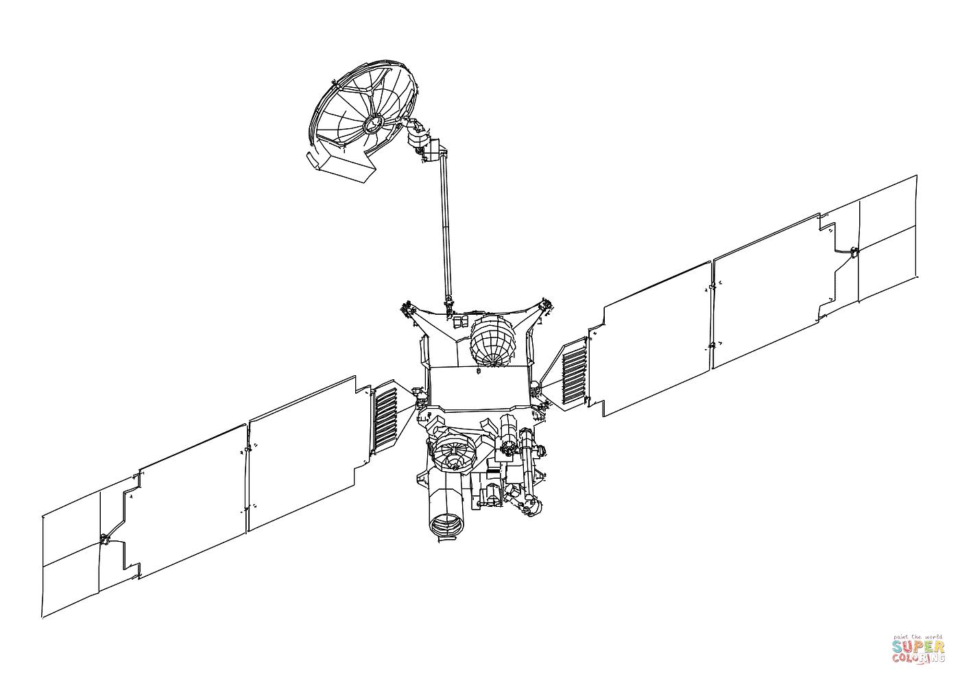 Satelite coloring #2, Download drawings