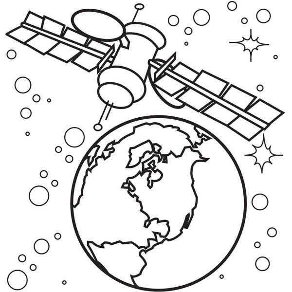 Satelite coloring #19, Download drawings