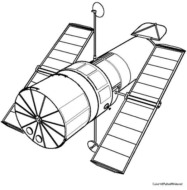Satelite coloring #12, Download drawings