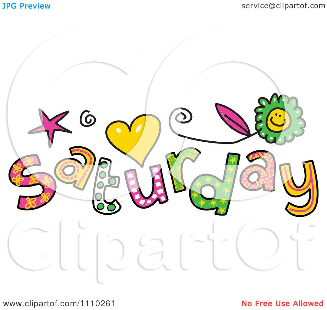 Saturday clipart #2, Download drawings