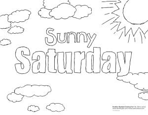 Saturday coloring #14, Download drawings