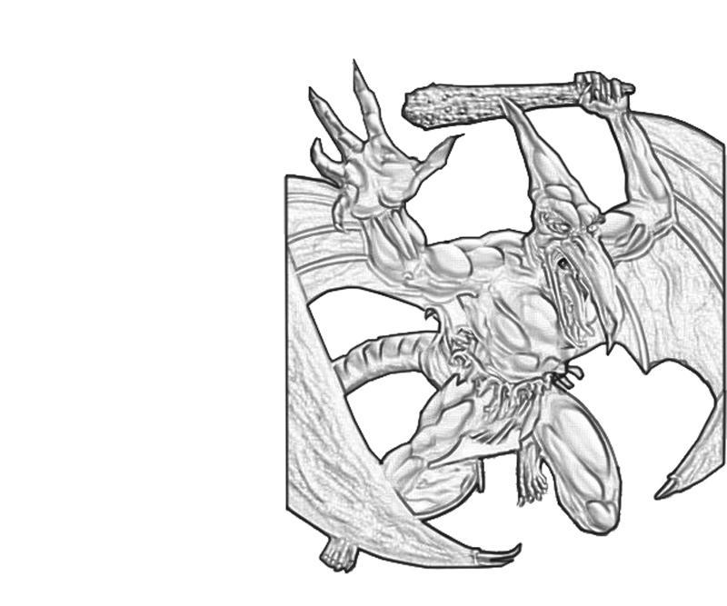 Sauron coloring #11, Download drawings