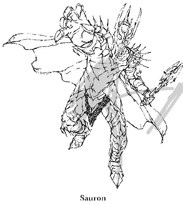 Sauron coloring #19, Download drawings