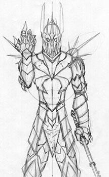 Sauron coloring #5, Download drawings