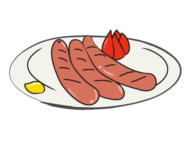 Sausage clipart #7, Download drawings