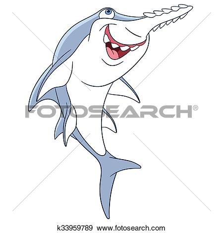Sawfish clipart #14, Download drawings