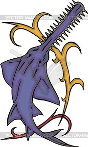 Sawfish clipart #18, Download drawings