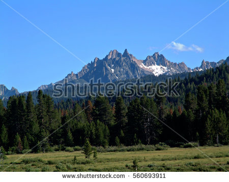 Sawtooth National Recreation Area clipart #6, Download drawings