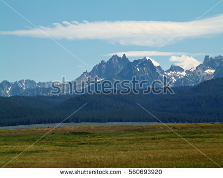 Sawtooth National Recreation Area clipart #5, Download drawings