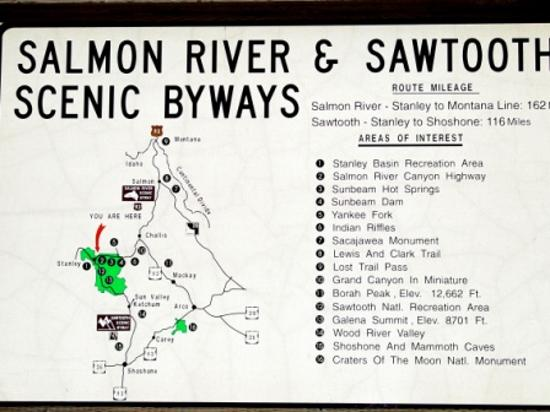 Sawtooth National Recreation Area coloring #9, Download drawings