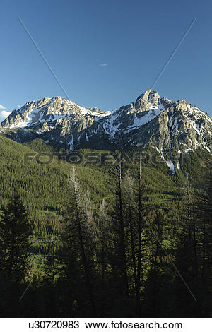 Sawtooth National Recreation Area clipart #2, Download drawings