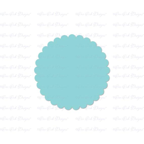 scalloped circle svg #570, Download drawings