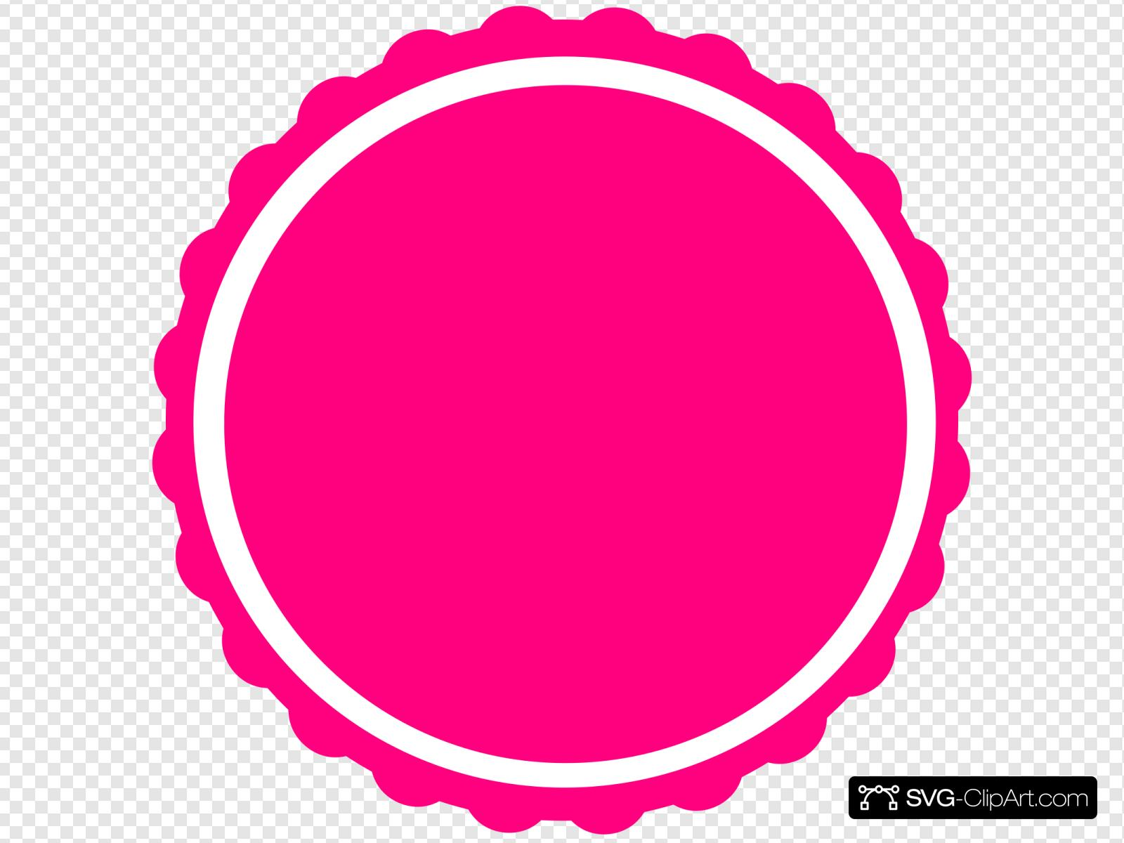 scalloped circle svg #564, Download drawings