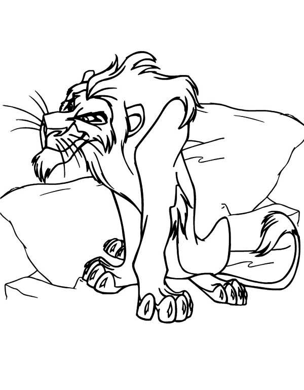 Scar coloring #4, Download drawings