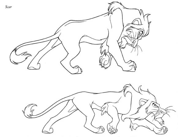 Scar coloring #1, Download drawings