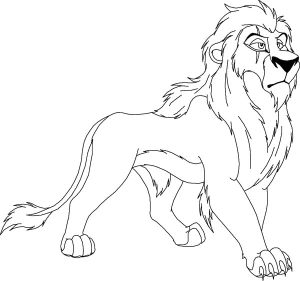 Scar coloring #14, Download drawings