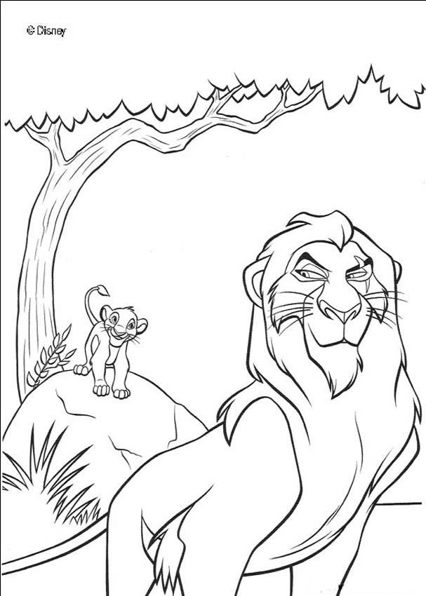 Scar coloring #12, Download drawings
