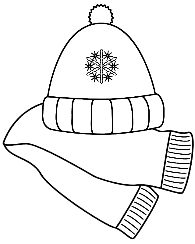 Scarf coloring #4, Download drawings
